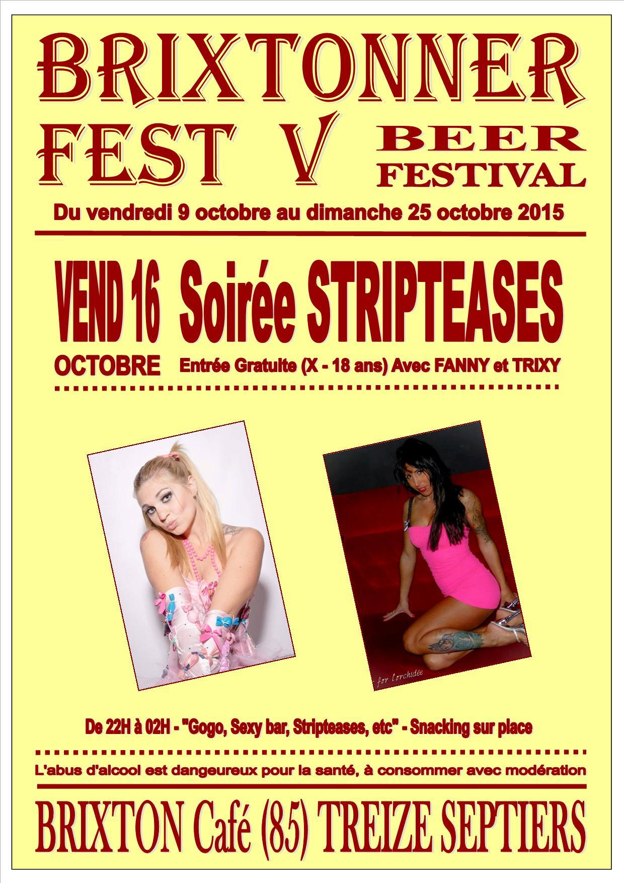 Brixtonner 2015 Soirée Stripteases