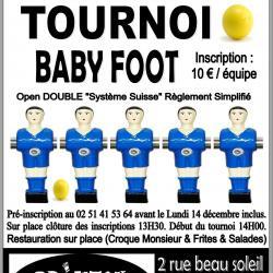 Tournoi Baby Brixton café